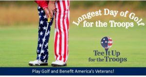 The Longest Day of Golf for the Troops Military Charity Golf Fundraiser at Bunker Hills Golf Club, Coon Rapids, MN