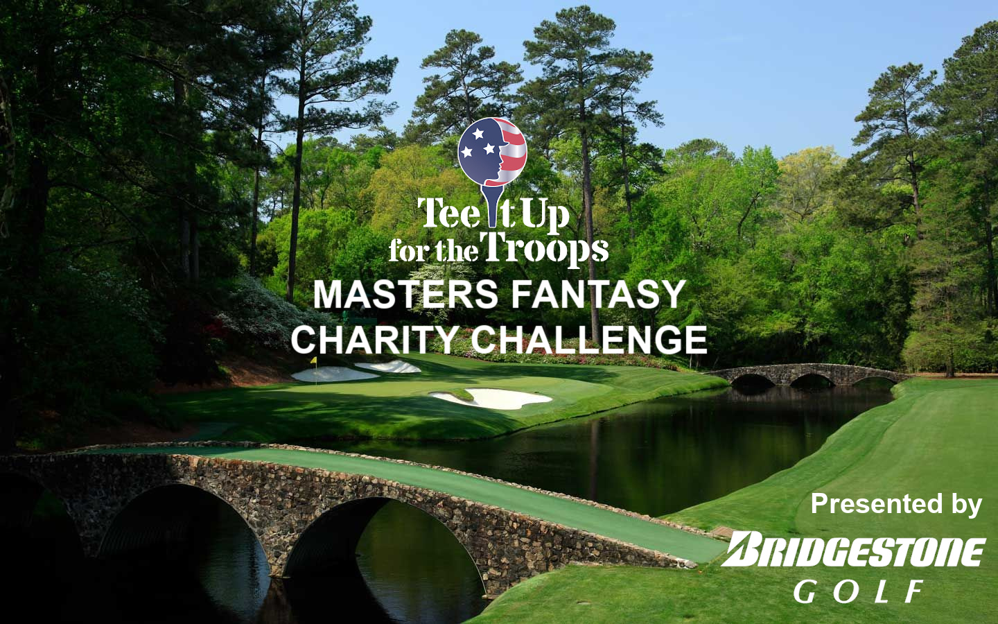 Tee It Up for the Troops MASTERS Fantasy Challenge presented by Bridgestone Golf